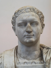 Portrait of the Roman emperor Domitian, 2