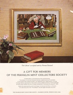 Norman rockwell coin collector print  Brochure