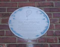 Photo of Ralph Erskine blue plaque
