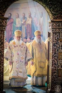 Литургия в Иверском монастыре 160