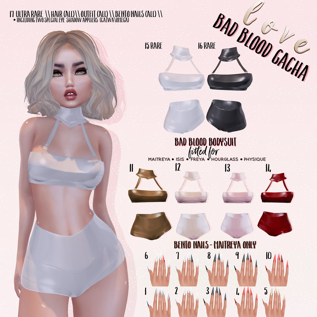 Love [Bad Blood Gacha] Ad - SecondLifeHub.com