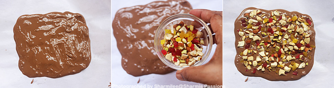 How to make Chocolate bark recipe - Step1