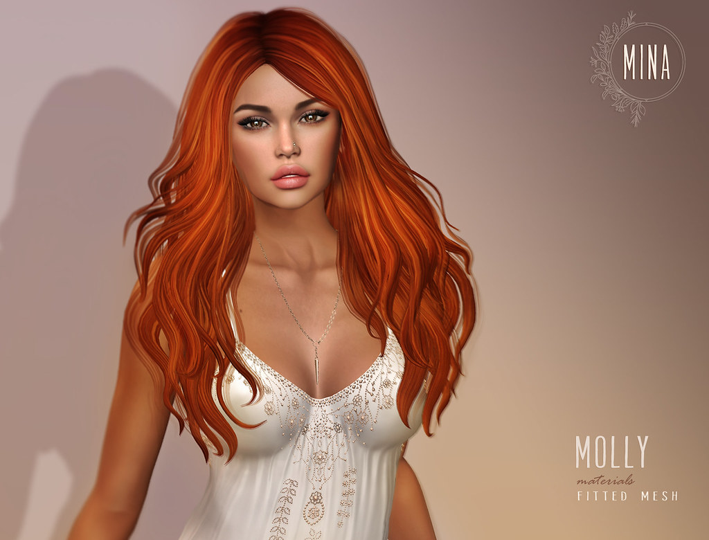MINA Hair - Molly for Uber - SecondLifeHub.com