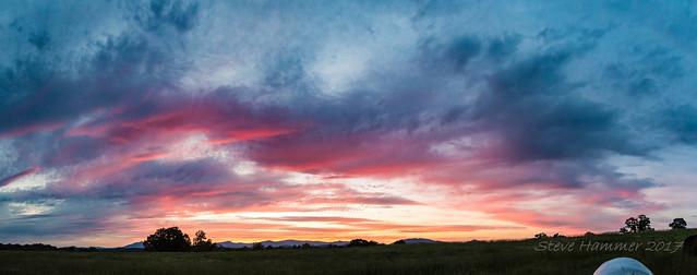 Sunset Pano, Nikon D7200, Sigma 10-20mm F3.5 EX DC HSM
