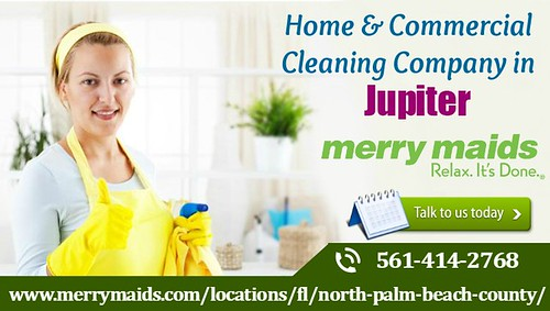 Residential and Commercial Cleaning in Jupiter