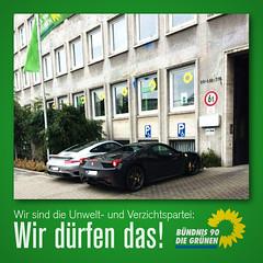 Endlich! Grüne Autos!