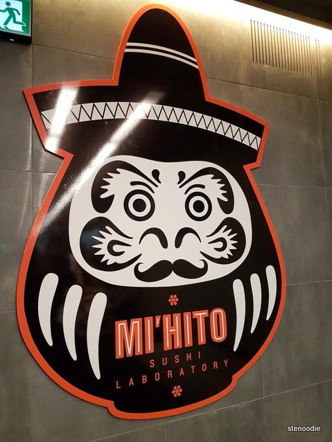 Mi'hito Sushi Laboratory mascot