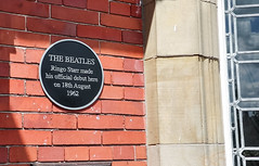 Photo of George Harrison, Paul McCartney, John Lennon, Ringo Starr, and 1 other