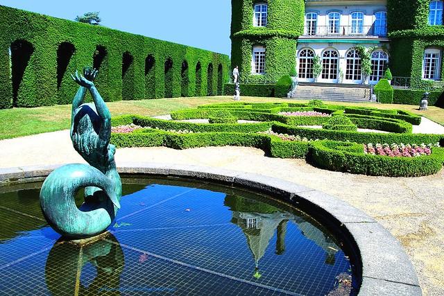 Summer on Solvay Estate - Château de La Hulpe (3) - Sculptures