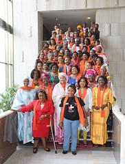 Kinshasa, RD Congo: Mme Amina J. Mohammed, Secrétaire générale adjointe des Nations Unies à l'hôtel Kempinski ce matin avec une délégation des femmes leaders de la RDC, pour revitaliser la participation de la Femme et le leadership féminin dans la Paix