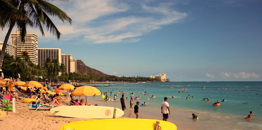 170724 Waikiki Beach, Honolulu, Hawaii