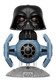 全銀河最可愛的威脅!FUNKO POP! RIDES 系列【達斯‧維德 & 鈦戰機】Darth Vader in Tie Fighter Pop! Deluxe
