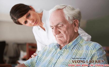 Người bệnh Parkinson thường có những cảm xúc tiêu cực