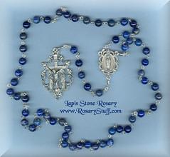 Lapis Lazui Stone Rosary