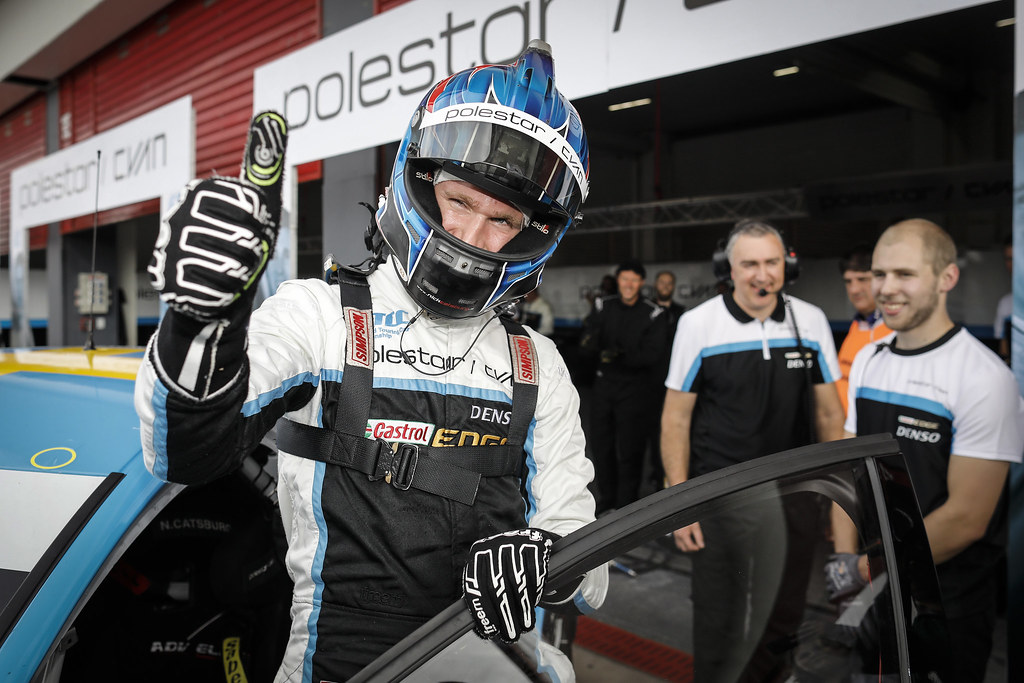 CATSBURG Nicky (ned) Volvo S60 Polestar team Polestar Cyan Racing ambiance portrait pole position during the 2017 FIA WTCC World Touring Car Race of Argentina at Termas de Rio Hondo, Argentina on july 14 to 16 - Photo Francois Flamand / DPPI