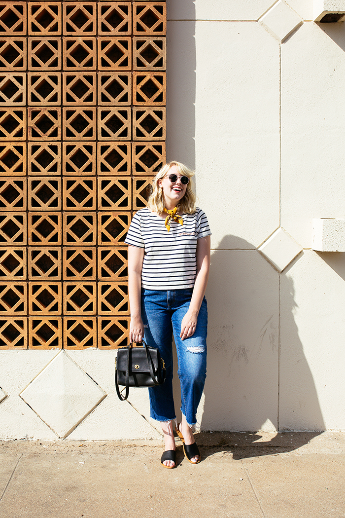 austin style blogger writes like a girl madewell staycation striped tee9