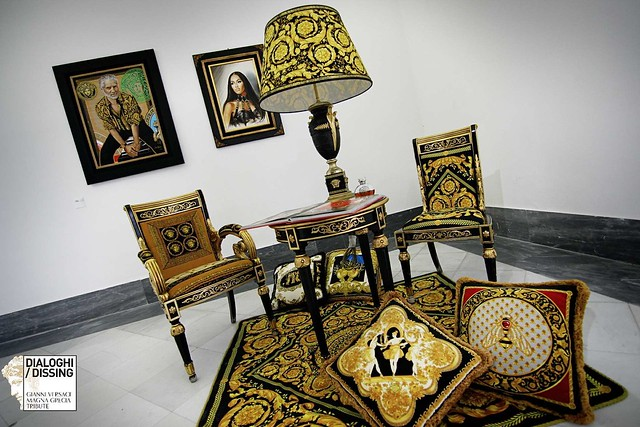Opening Dialoghi Dissing, omaggio a Gianni Versace al Mann