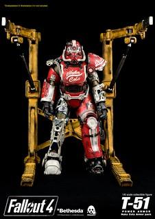 threezero 異塵餘生4【T-51 動力裝甲:核子可樂裝甲組合包】Nuka Cola Armor Pack 1/6 比例配件作品