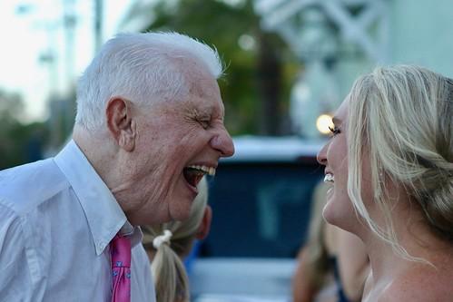 Bill Sr. & Lauren Donovan Share a Laugh