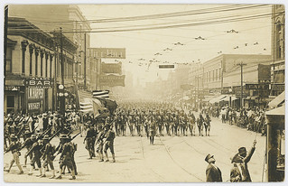 [36th Infantry Division Soldiers Marching, Fort Worth]