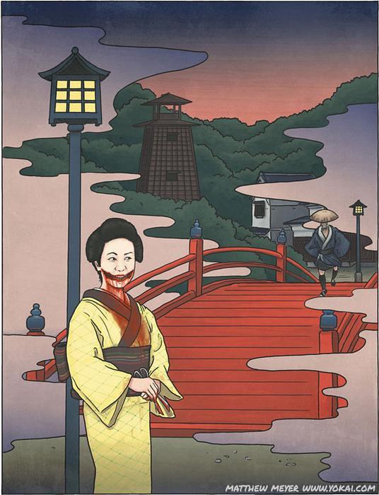 Kuchisake Onna e Teke Teke lendas que farão você perder o sono