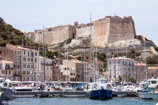 La città vecchia vista dal porto