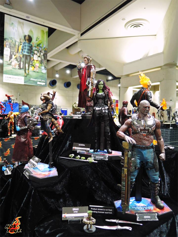 Hot Toys Guardians of the Galaxy Vol 2 SDCC2017