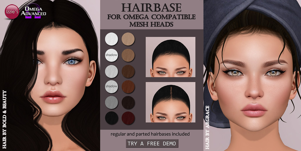 Omega Hairbase - SecondLifeHub.com