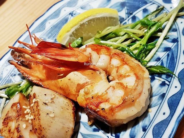 Shrimp Teppanyaki