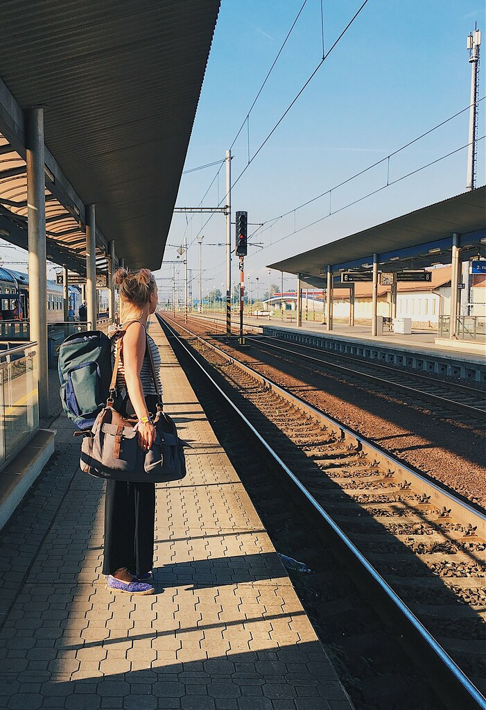 Regiojet junalla Tsekeissä