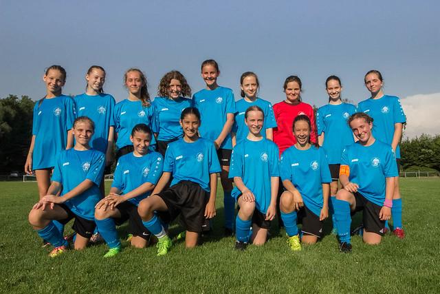 Mädchenfußball beim PSV