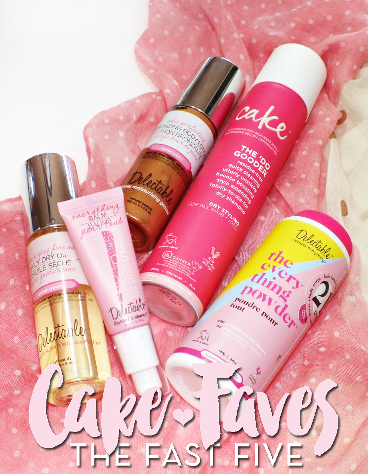 the fast five cake faves