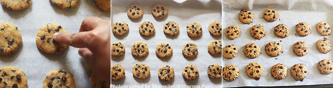 How to make Eggless whole wheat choco chip cookies recipe - Step1