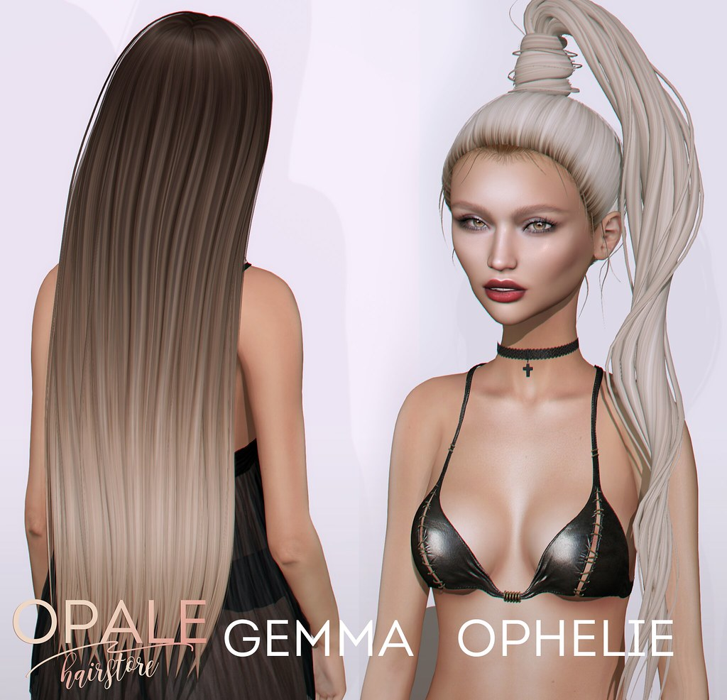 Opale . Gemma x Ophelie @ Fetish Fair August 2017 - SecondLifeHub.com