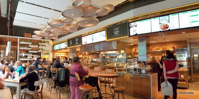 Barilla Restaurants interior
