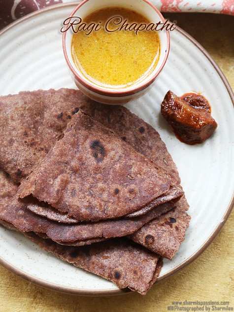 Ragi chapathi recipe