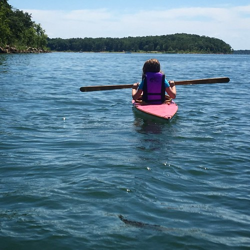 Kayaking at Stockton Lake