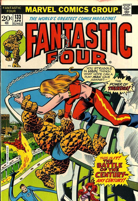 Fantastic Four 133 cover color Buscema Sinnott