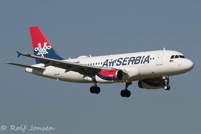 YU-APB Air Serbia Schiphol EHAM 19.06-17