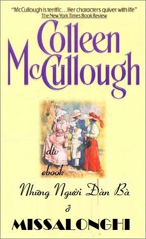 Những Người Đàn Bà ở Missalonghi - Colleen McCullough
