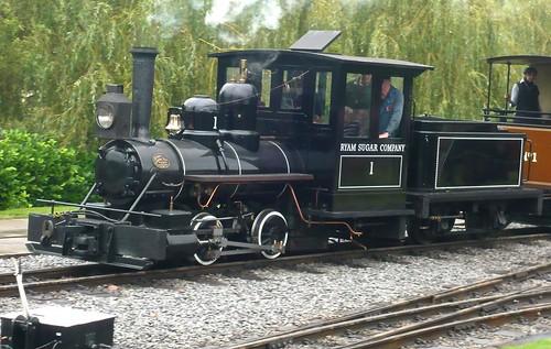 'Ryam Sugar Company No. 1' 0-4-0 at the 'Statfold Barn Railway' on 'Dennis Basford's railsroadsrunways.blogspot.co.uk