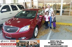 #HappyBirthday to Yevgeni from Mr. Yomi at McKinney Buick GMC!