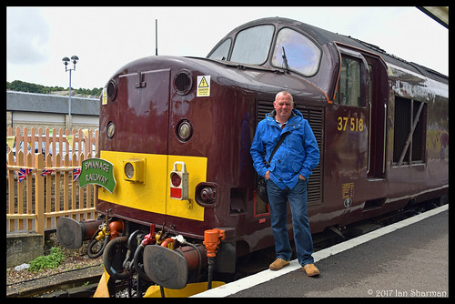 No 37518 22nd July 2017 Swanage Railway