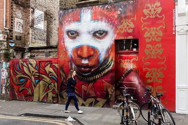 London, Brick Lane., Canon POWERSHOT G1 X