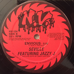SEVILLE FEATURING JAZZY J:ENVIOUS(LABEL SIDE-B)