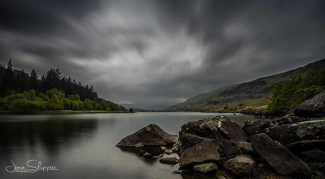 Stormy Llynnau Mymbyr