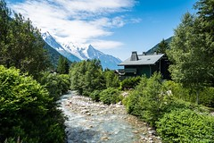 Cabin in the foothills of Mont Blanc
