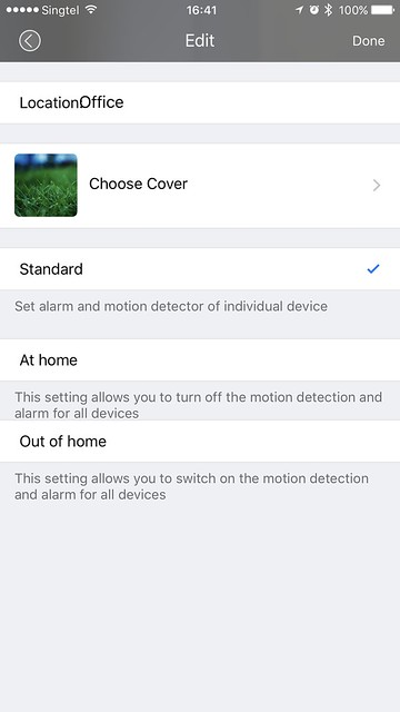 Doby iOS App - Change Location