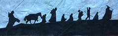 Fellowship of the Ring Silhouette
