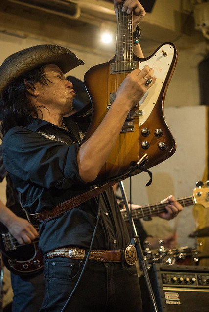 Johnny Winter Tribute Festival 7 - 鈴木Johnny隆バンド live at Golden Egg, Tokyo, 16 Jul 2017 -7S-00535